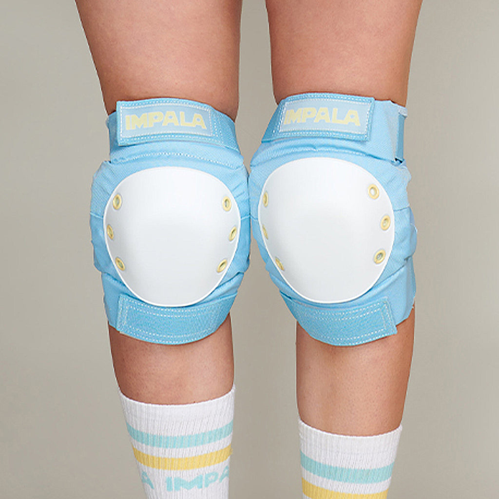 Impala Adult Protective Set - Sky Blue/Yellow