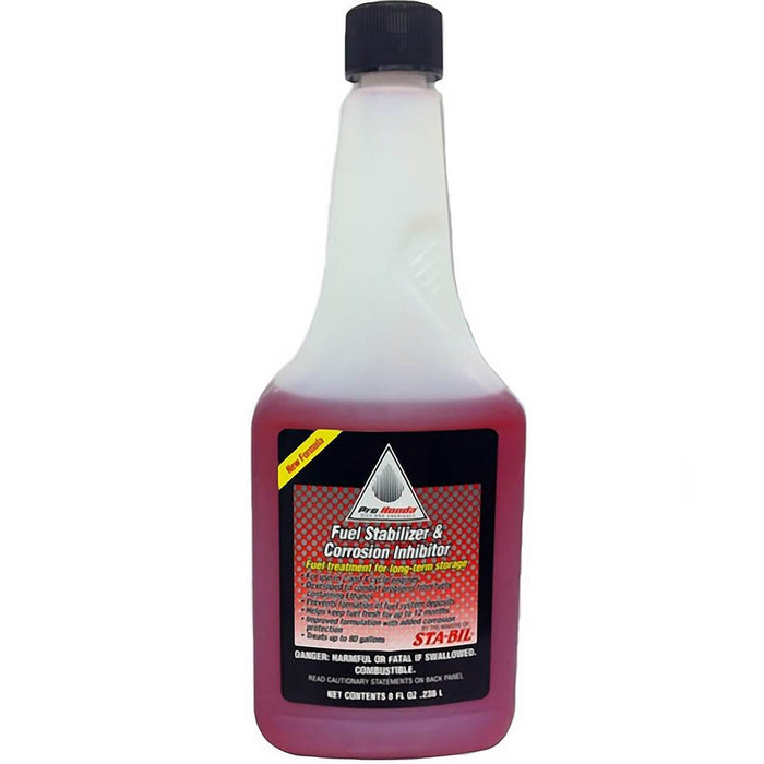 Honda 08732-0800 8oz Short and Long Term Fuel Storage Stabilizer and Inhibitor