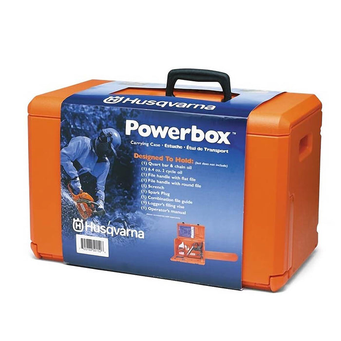 Husqvarna 100000107 Powerbox Orange Chainsaw Carrying Case