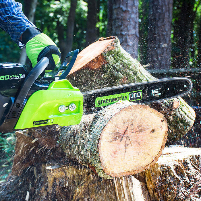 GreenWorks CS80L01 80-Volt 6-Inch Heavy Duty Chainsaw - Bare Tool - 2004202