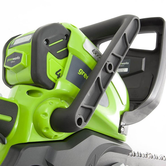 GreenWorks 20262 40-Volt 12-Inch 2.0Ah Tool-Less Cordless Chainsaw