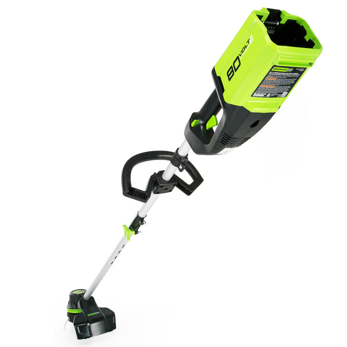 GreenWorks ST80L00 80-Volt 16-Inch Cordless String Trimmer - Bare Tool - 2102602