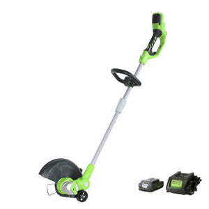 GreenWorks ST40B410 40-Volt 12-Inch Cordless String Trimmer Kit - 2103002
