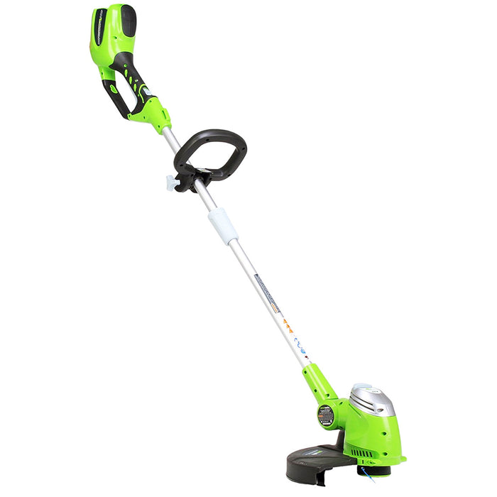 GreenWorks 21332 40-Volt 13-Inch G-MAX Pivot Cordless String Trimmer