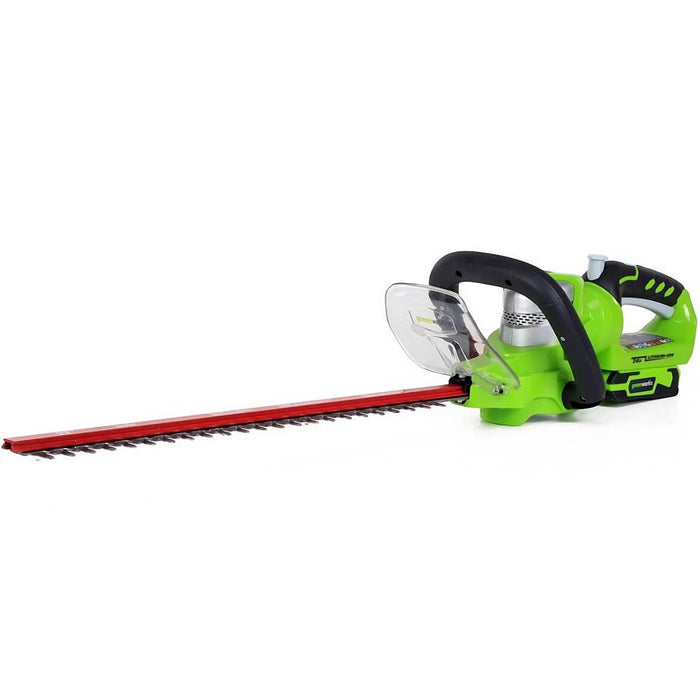 GreenWorks 2200302 24-Volt 22-Inch Cordless Hedge Trimmer - Bare Tool