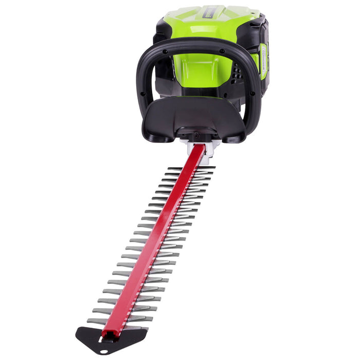 GreenWorks GHT80320 80-Volt 24-Inch Cordless Hedge Trimmer - Bare Tool - 2200702