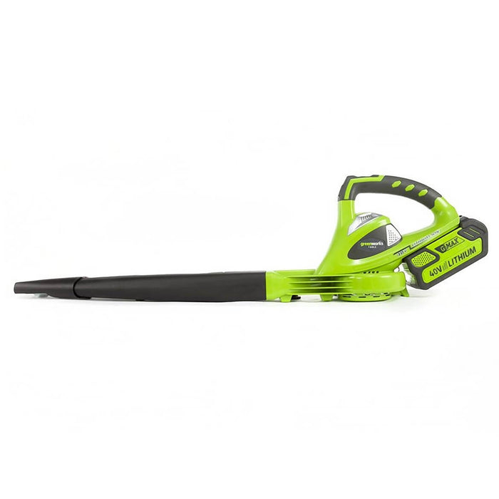 GreenWorks 24252 40-Volt 150-Mph Cordless Sweeper