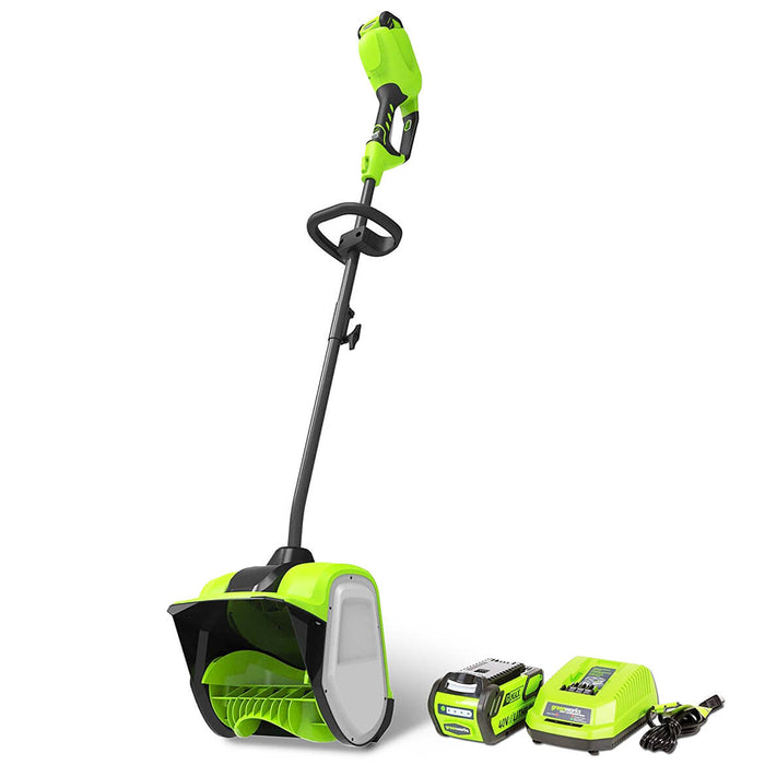 GreenWorks GWSN40120 40-Volt 12-Inch 4.0Ah Cordless Snow Shovel Kit - 2600702