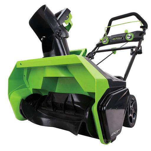GreenWorks 2601102 40-Volt GMax 20-Inch Cordless Snow Thrower - Bare Tool
