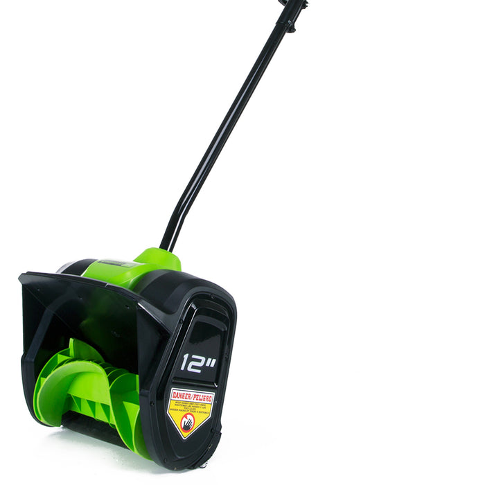 GreenWorks GLSS80000 80-Volt 12-Inch Cordless Snow Shovel - Bare Tool -  2601202
