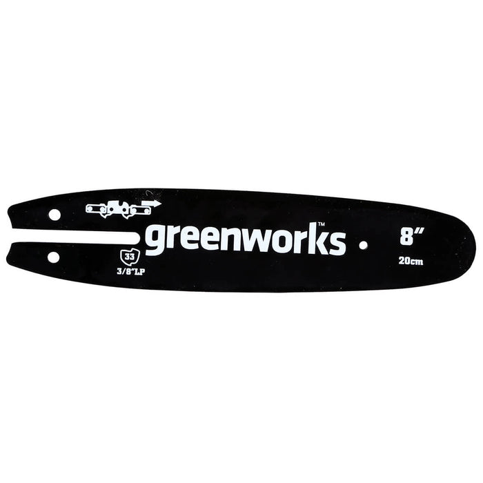 GreenWorks 29062 8-Inch Heavy Duty Replacement Pole Chainsaw Bar