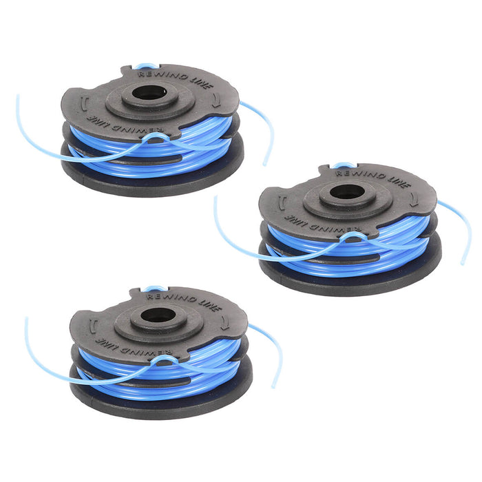 GreenWorks 29242 .065-Inch Dual Line String Trimmer Replacement Spools - 3pk