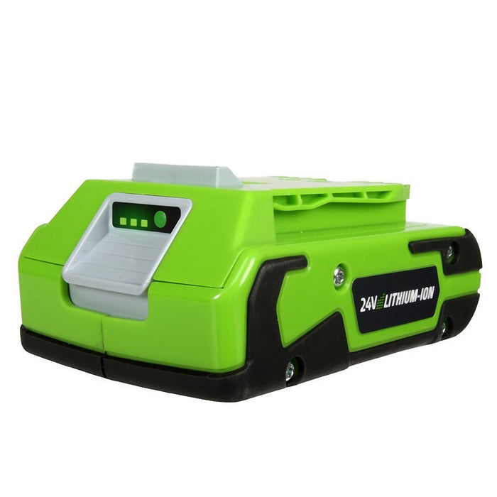 GreenWorks 29842 24-Volt 2.0Ah G24 Lithium-Ion Battery Pack
