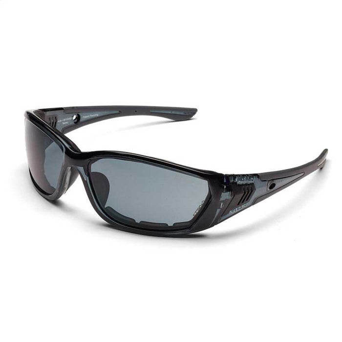 Husqvarna 501234501 Visual Durable UV Fortress Protective Glasses w/ Smoke Lens