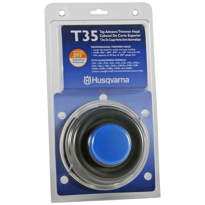 Husqvarna 531300183 T35 Non-Universal Tap Advance String Trimmer Head