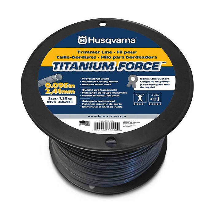 Husqvarna 639005106 .095-Inch x 3-Lb Titanium Force String Trimmer Line Spool
