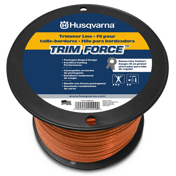 Husqvarna 639006117 105-Inch x 1168-Foot Co-Polymer TrimForce Trimmer Line