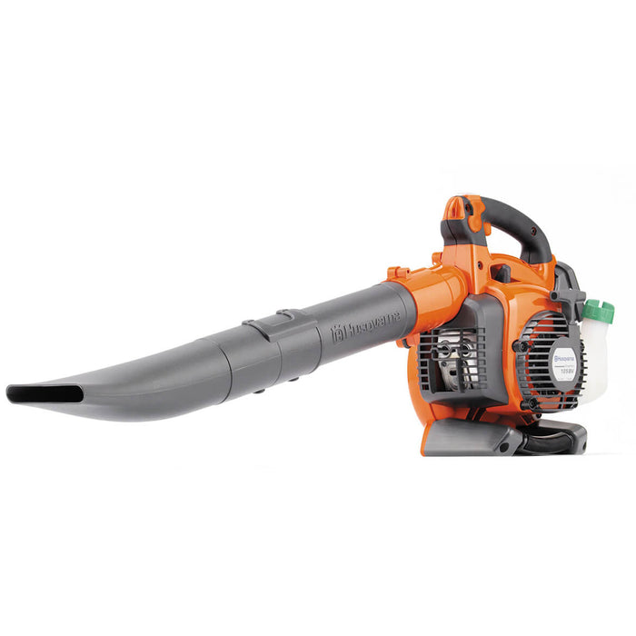 Husqvarna 952711902 28cc Gas Powered Hand Held Leaf Blower w/ Vac-Kit - 125BVX