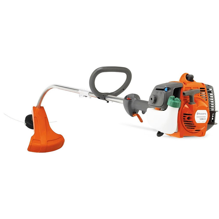 Husqvarna 952711952 128CD 1.0-Hp 28cc Recoil Gas Detachable Curved Shaft Trimmer