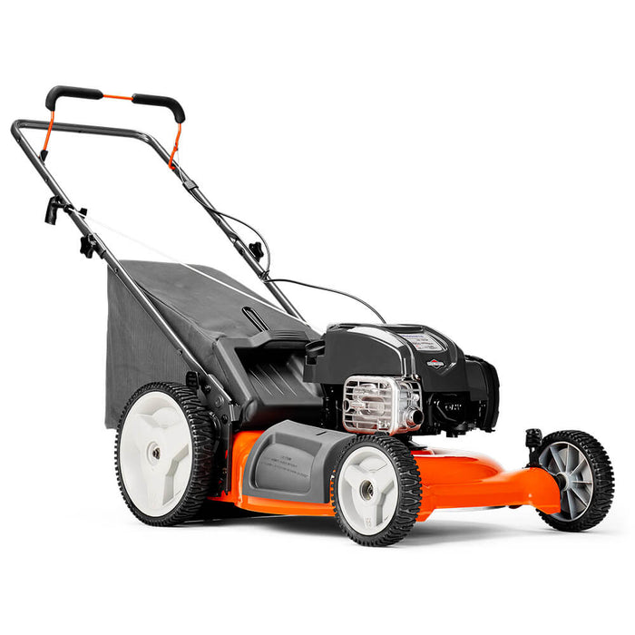 Husqvarna 961330027 21-Inch 163cc High Wheel Gas-Powered Push Lawn Mower