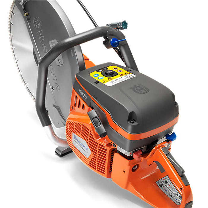 "Husqvarna 967348101 K970 III Active 16"" Sturdy Gas Cut-Off Power Saw"