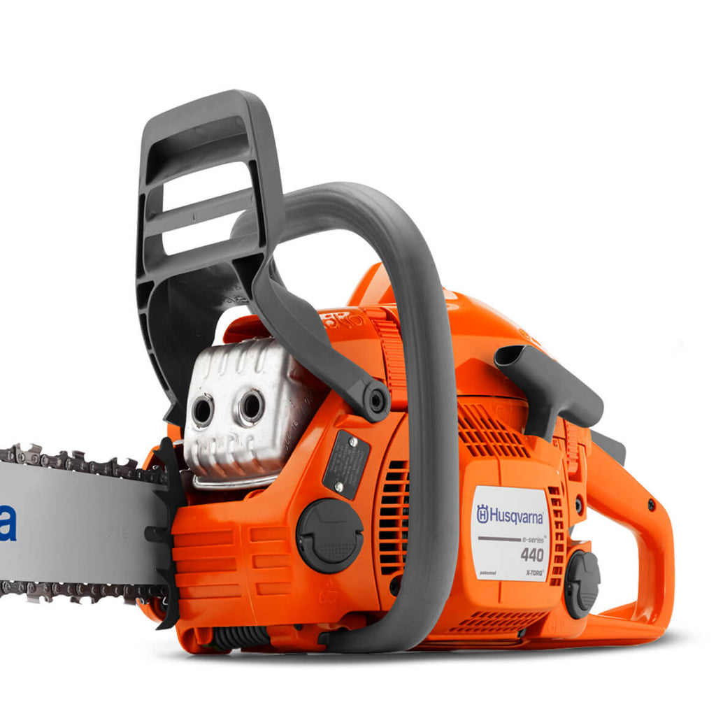 Husqvarna 445 16-Inch 45.7cc Gas Powered Fully Assembled Chainsaw - 96 —  Electric Generator Depot