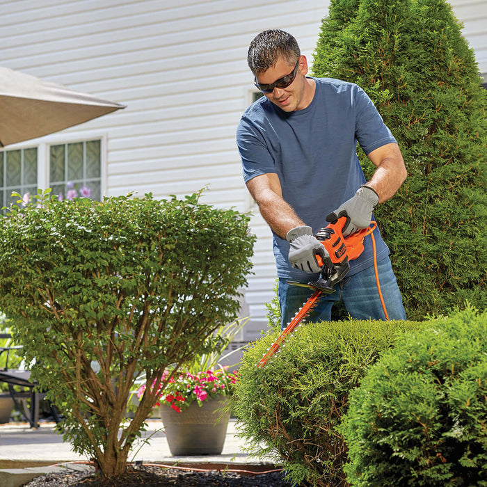 "Black and Decker BEHT150 17"" 3.2-Amp Corded Dual-Action Electric Hedge Trimmer"