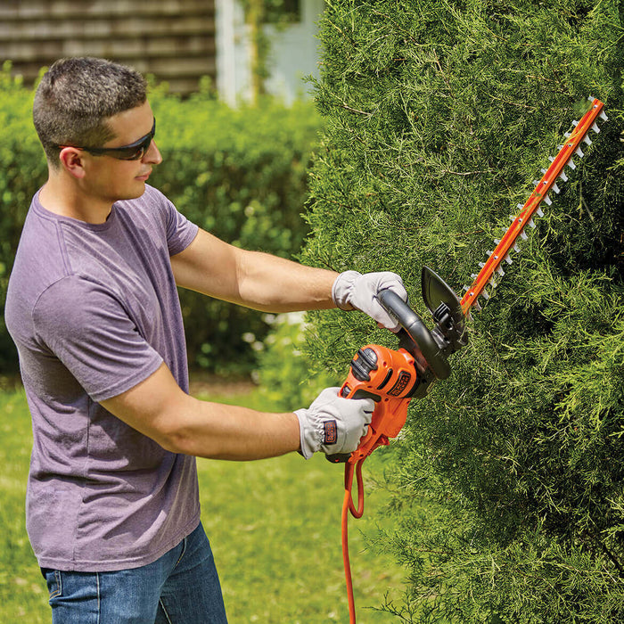 Black and Decker BEHT350 22-Inch 4 0-Amp Dual-Action Electric Hedge Trimmer