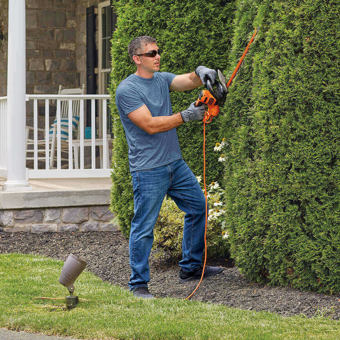 Black and Decker BEHTS400 22-Inch 3.8-Amp Electric Sawblade Hedge Trimmer