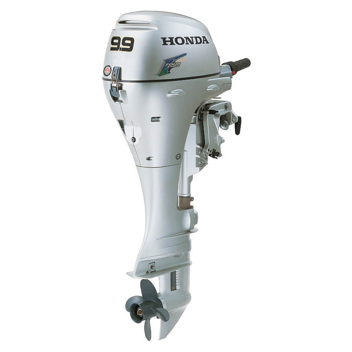 "Honda BF10DK3LHS BF10 9.9 HP Electric Start Engine 20"" Gas Powered Outboard Motor"