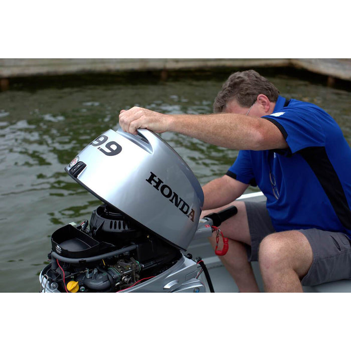 Honda BF10DK3SHS BF10 15-Inch 9.9-Hp Electric Start Engine Gas Powered Outboard Motor