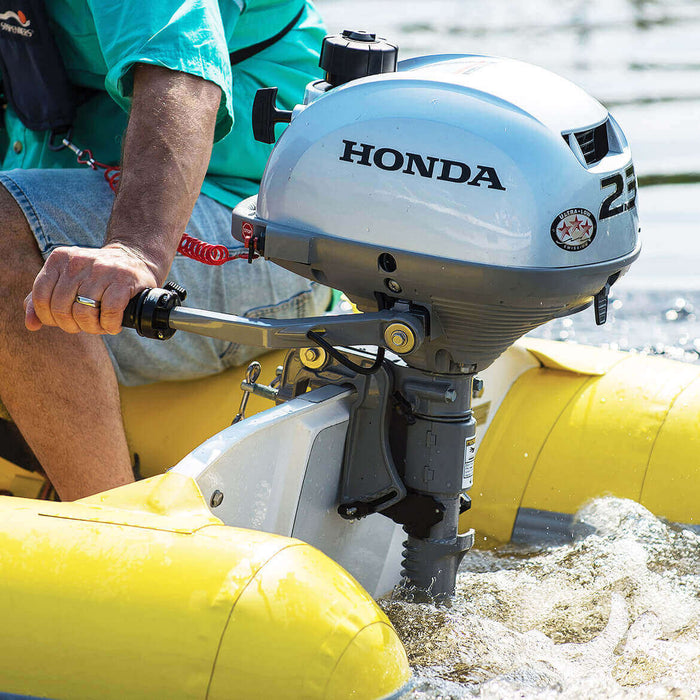 "Honda Marine BF2.3 2.3 HP Engine 20"" Shaft Gas Powered Outboard Motor"