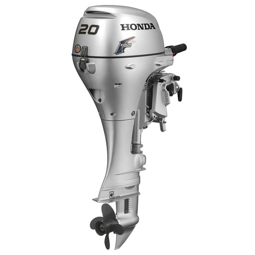 "Honda Marine BF20 20 HP Engine 20"" Shaft Gas Powered Outboard Motor"