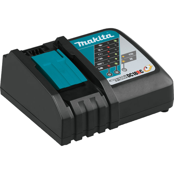 Makita BL1850BDC2X 18V LXT Lithium-Ion Battery Optimum Charger Starter Pack