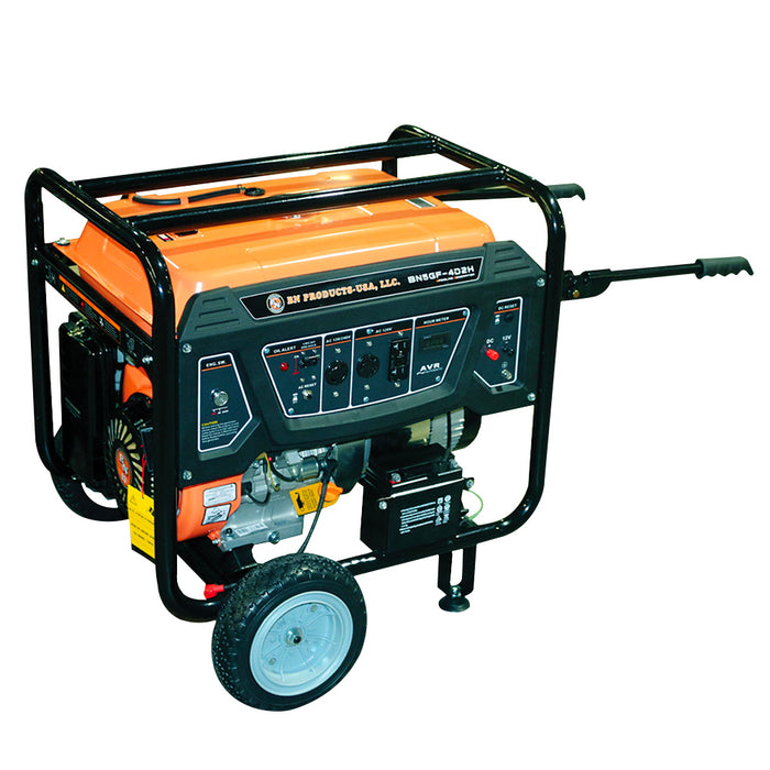 BN Products BNG5000 240-Volt 5000 Watt Electric Start Gas Power Generator