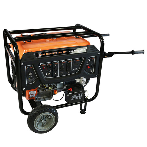 BN Products BNG6500 240-Volt 6500 Watt Electric Start Gas Power Generator