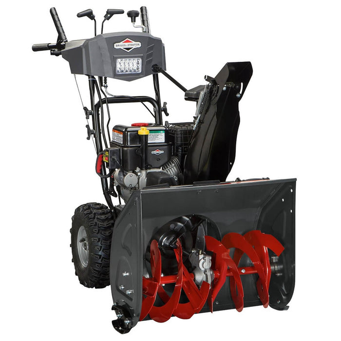 Briggs & Stratton 1696614 208cc 24-Inch Dual-Stage Electric Start Snow Thrower