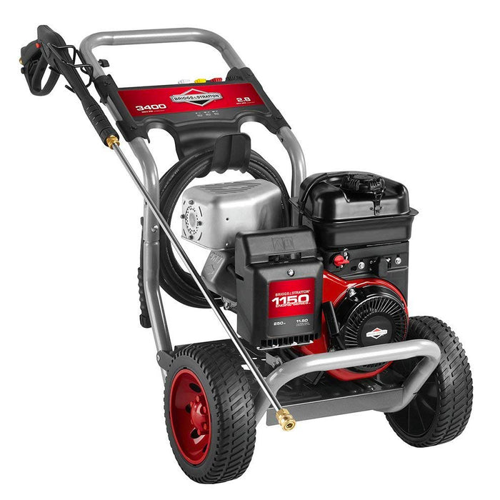 Briggs and Stratton 20505 3,400-Psi 2.8-Gpm Cold Water Gas Powered Pressure Washer