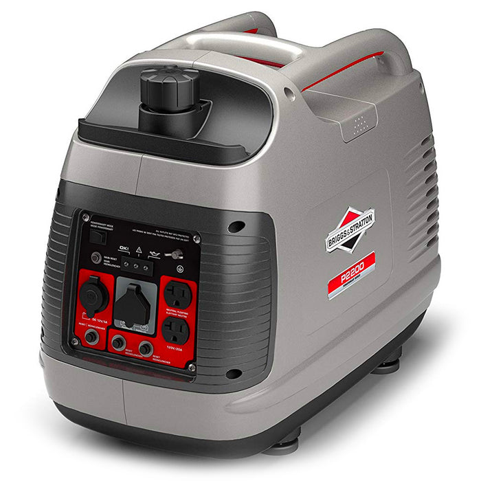 Briggs and Stratton 30651 2,200-Watt Gas Powered Recoil Start Portable inverter