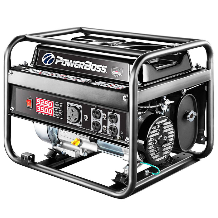 Briggs & Stratton 30667 3500 Watt PowerBoss Gas Powered Portable Generator