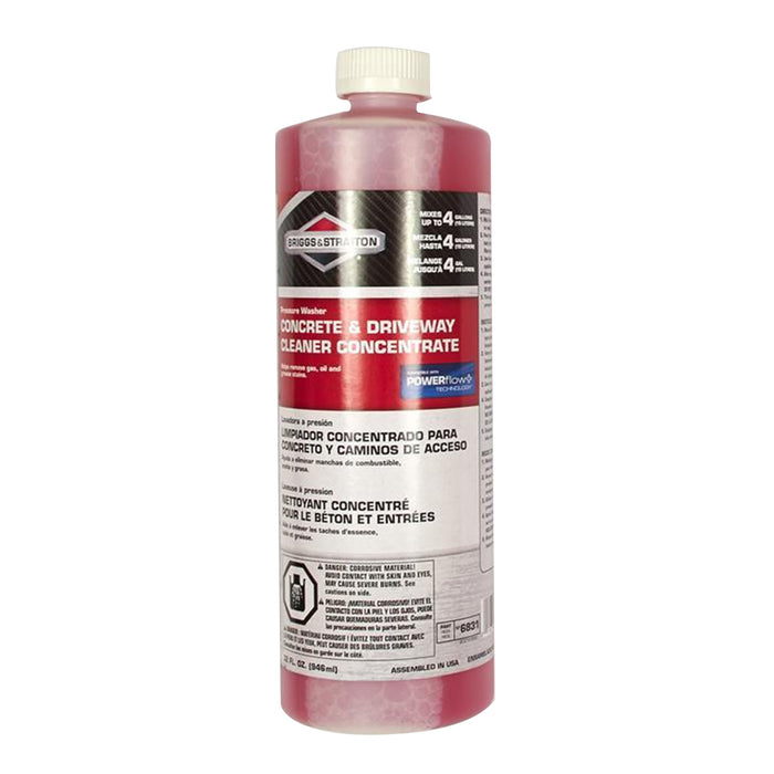 Briggs and Stratton 6831 32-Ounce Heavy-Duty Concrete Cleaner Concentrate