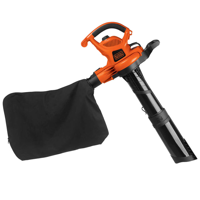 Black and Decker BV6000 12-Amp 3-in-1 Blower/Vacuum/Mulcher w/ Concentrator