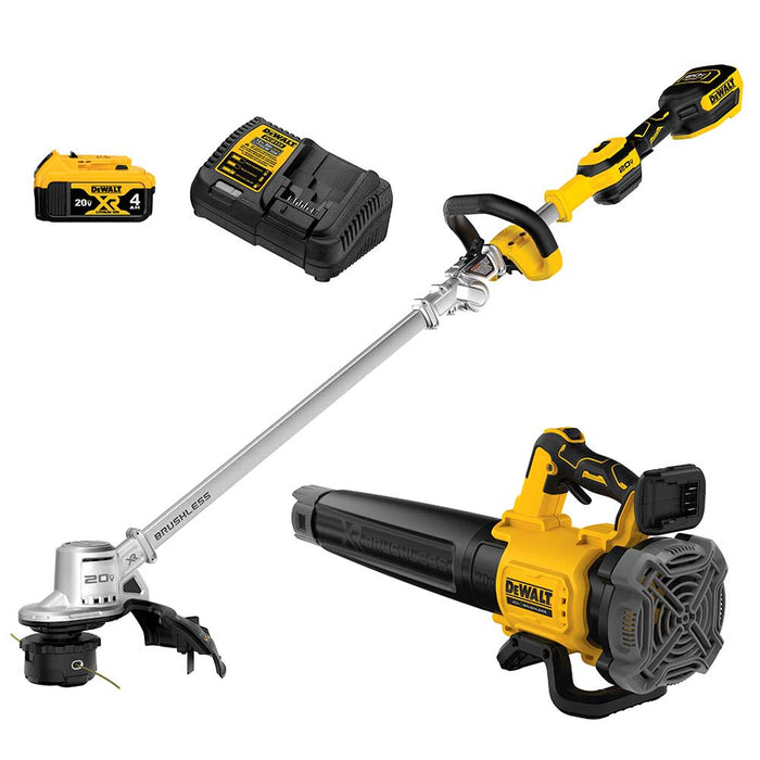 DeWALT DCKO222M1 20V MAX XR Cordless String Trimmer/Handheld Blower Combo Kit