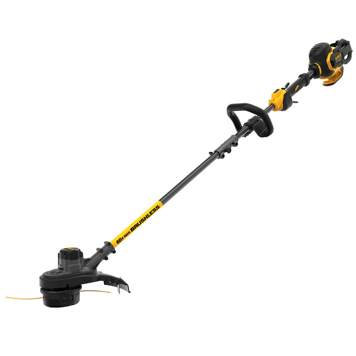DeWALT DCST970B 60-Volt 15-Inch Flexvolt Cordless String Trimmer - Bare Tool