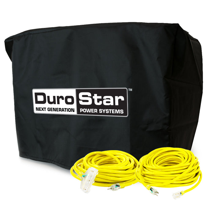 DuroStar DS10000-DXKIT 100-Foot Extension Power Cord Kit w/ Generator Cover