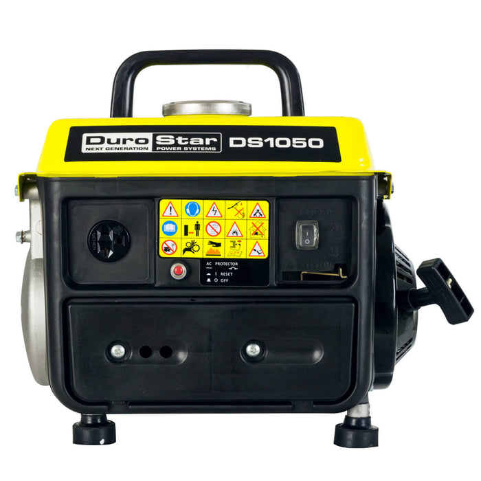 DuroStar DS1050 1050-Watt 2-Hp Air Cooled Gas Powered Portable Generator