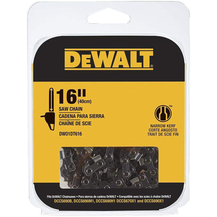 "DeWalt DWO1DT616T 16"" Replacement Saw Chain"