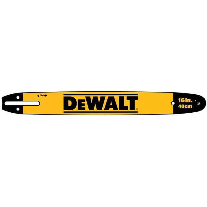 "DeWALT DWZCSB16 16"" Chainsaw Replacement Bar for 60V DeWALT Chainsaws"