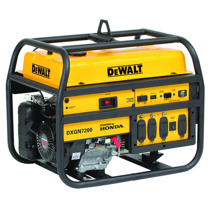 DeWALT DXGN7200 7,200-Watt 120/240-Volt Recoil/ Electric Start Commercial Generator