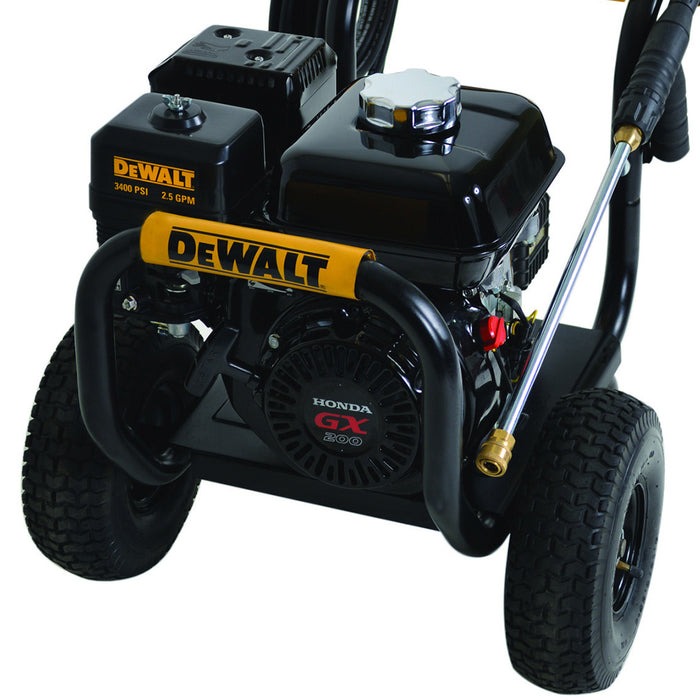 DeWALT DXPW3425 3,400-Psi 2.5-Gpm Cold Water Gas Direct Drive Pressure Washer